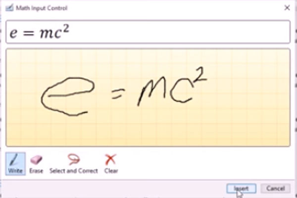 Ink Equation Tool